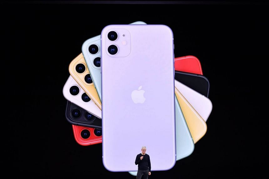 The new iPhone 11 (above) and the slew of inexpensive content are part of Apple's plans to regain handset market share and lock customers into its ecosystem.