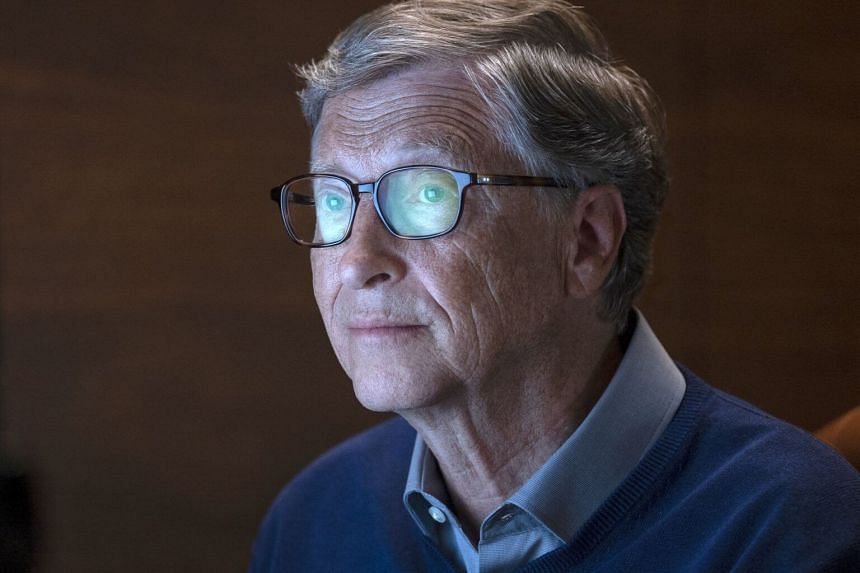 "Billionaire philanthropist Bill Gates in a scene from ""Inside Bill's Brain: Decoding Bill Gates""."