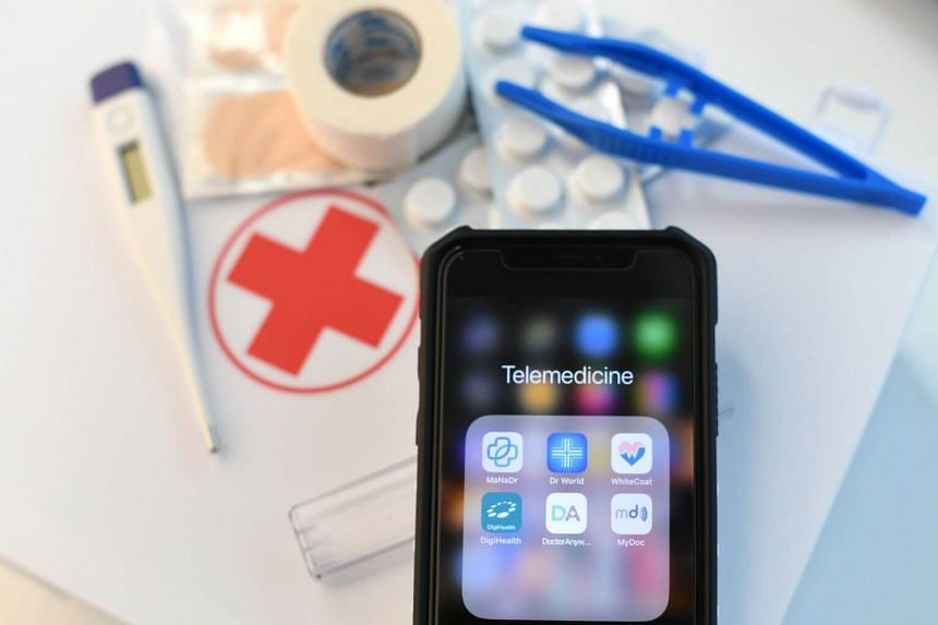 Patients can use telemedicine apps on their phones to consult doctors and get MCs without even leaving their houses.