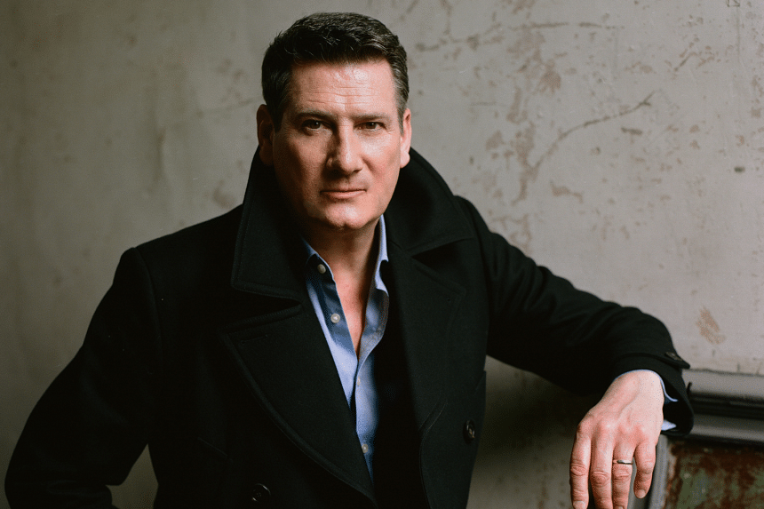 Tony Hadley will perform at The Theatre at Mediacorp on Feb 16, 2020, as a solo act.