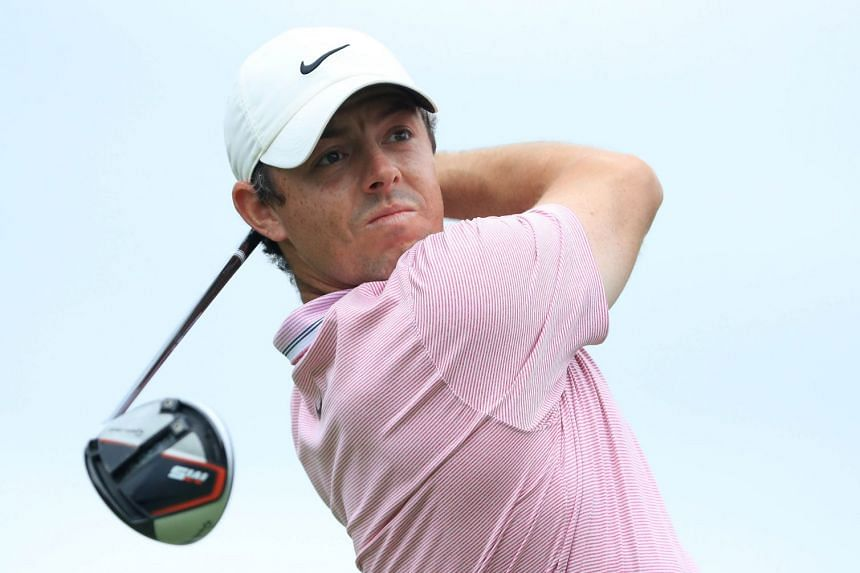 It is the third time McIlroy (above) has won the Jack Nicklaus Award.