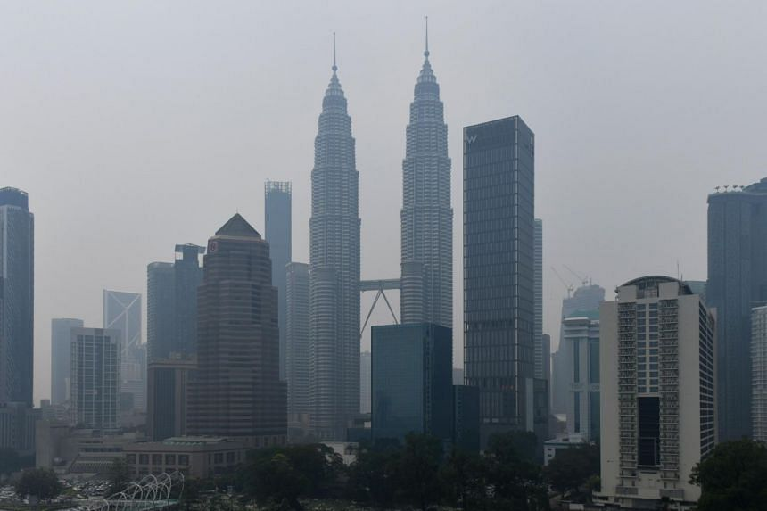 """The skyline of Kuala Lumpur, on Sept 11, 2019. Malaysia's Finance Ministry has been receiving feedback to take a """"pragmatic"""" view of its fiscal balance."""