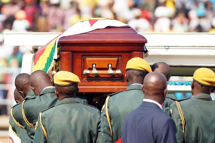 Mugabe's family say burial to be private, place still unknown