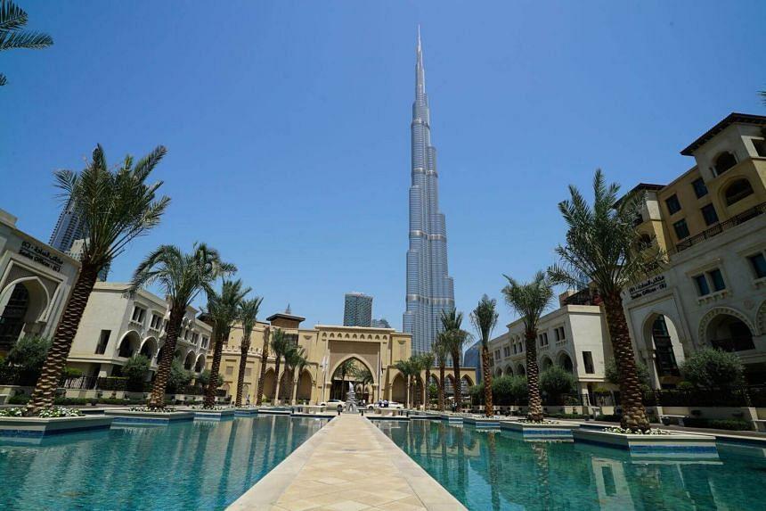 The Burj Khalifa towers over much of modern Dubai.