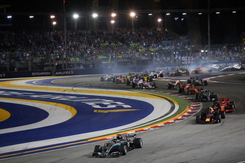 metà fuori 0d2be 7beea Air restrictions, road closures to be put in place for F1 ...