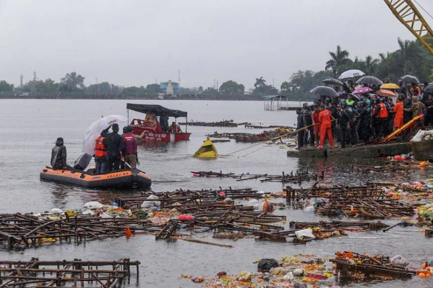 At least 11 people drowned in a lake in central India on the morning of Sept 13 when their boats capsized during a religious ceremony, the authorities said.