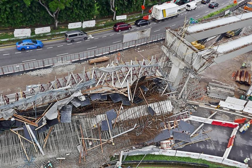 The viaduct collapsed in the early hours of July 14, 2017, resulting in the death of 31-year-old Chinese worker Chen Yinchuan. Ten other workers were hurt, two seriously.