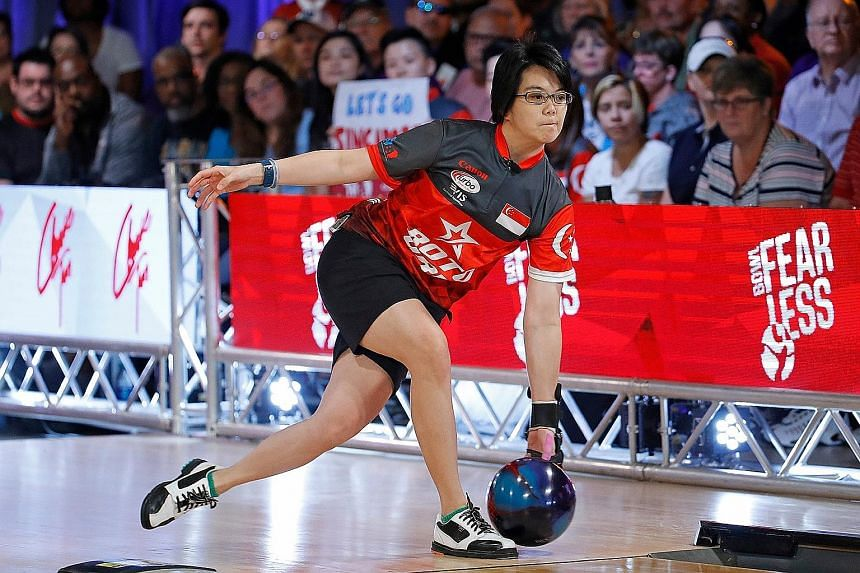 Bowler Cherie Tan will be aiming for a three-peat at the PWBA Tour Championship this week. She had won titles at the World Bowling Women's Championships and QubicaAMF PWBA Players Championship, claiming the Masters gold in Las Vegas before clinching