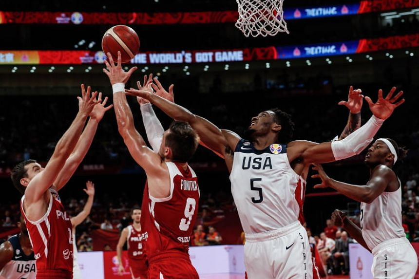 "Team USA defeated Poland 87-74 in a low-key ""classification"" game in Beijing to take seventh overall, their lowest position since the competition began in 1950."