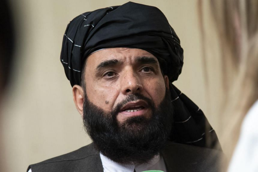 Taleban spokesman Suhail Shaheen (pictured) reportedly said that the Taleban delegation held consultations with Russian President Vladimir Putin's envoy for Afghanistan.