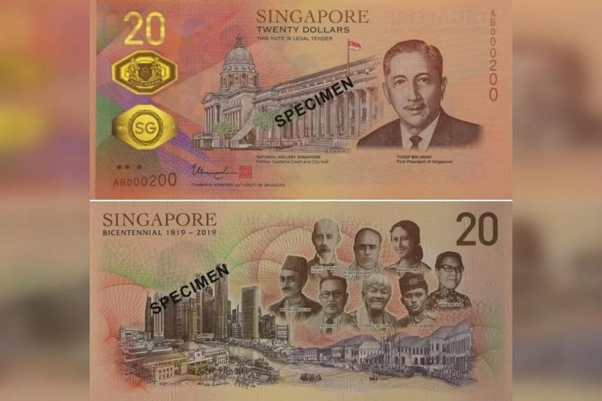 Singaporeans and PRs can apply online for two million more pieces of the Singapore Bicentennial $20 commemorative note from Sept 16, 2019.