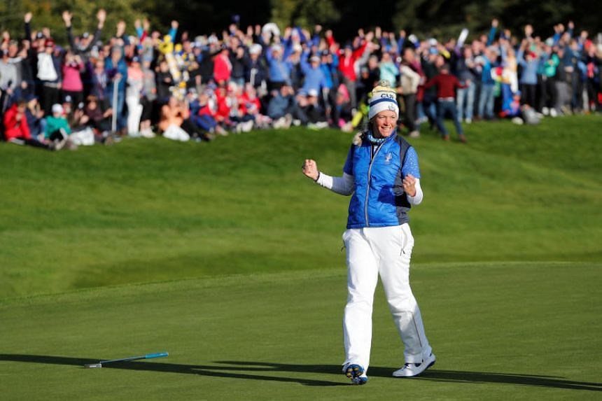 Europe beat United States of America to regain Solheim Cup