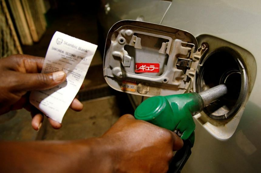 The benchmark oil futures jumped as much as US$11.73 a barrel to US$71.95 as the market opened on Monday (Sept 16) in Asia.