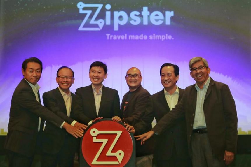 (From left) Chief Operating Officer of Toyota Tsusho Asia-Pacific Shigeharu Kato, mobilityX Board of Directors Chairman Peter Tan, Senior Minister of State for the Ministry of Trade and Industry and Ministry of Education Chee Hong Tat, Chief Executiv