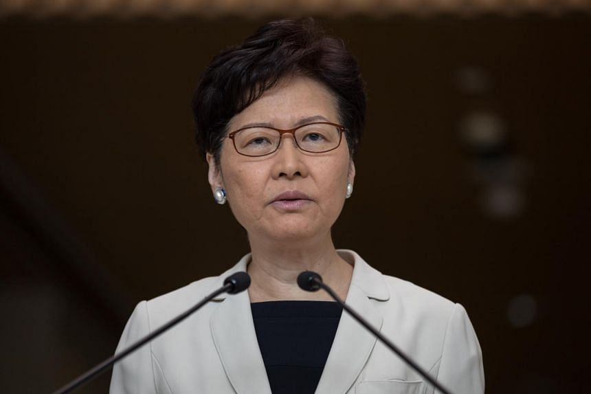 Hong Kong leader Carrie Lam said that she will begin open dialogues next week with various community groups, including protesters, and that participants can freely express their views.