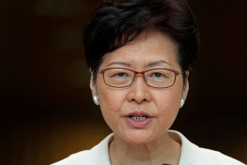 Hong Kong's leader capitulated to one of the protesters' demands in announcing a full withdrawal of an extradition Bill on Sept 4, 2019.