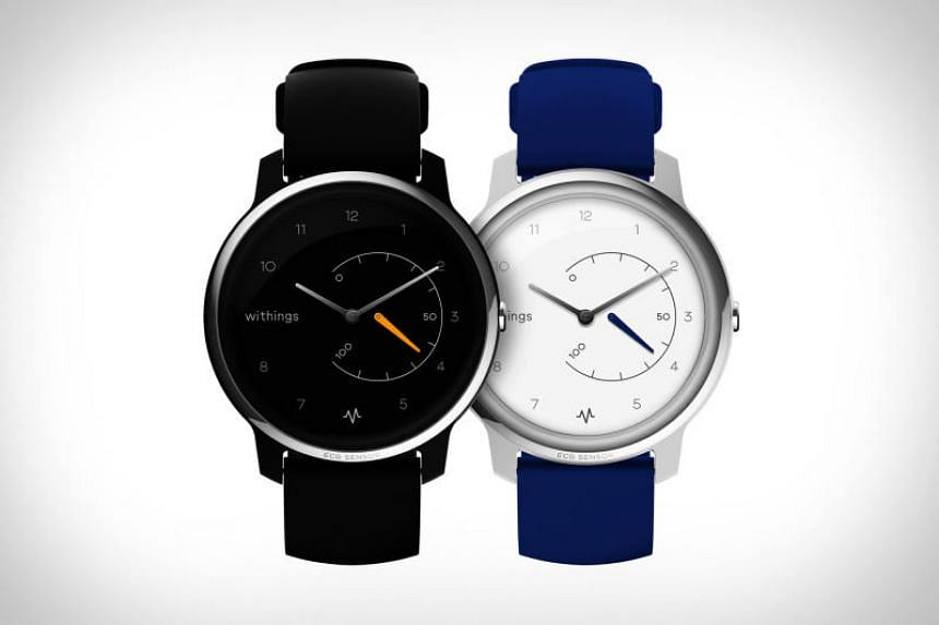 "The Withings Move ECG might look like an analogue watch with its hour and minute hands, but it is actually a ""semi-smartwatch"" that tracks physical activities."