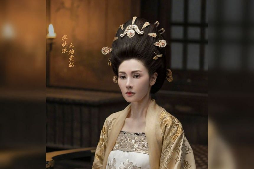Beauty queen-turned-actress Michelle Reis as Yang Guifei in Chinese producer Yu Zheng's new show Real Actor.