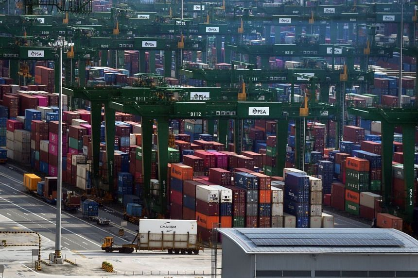 Exports to the majority of Singapore's top markets fell, except for China.