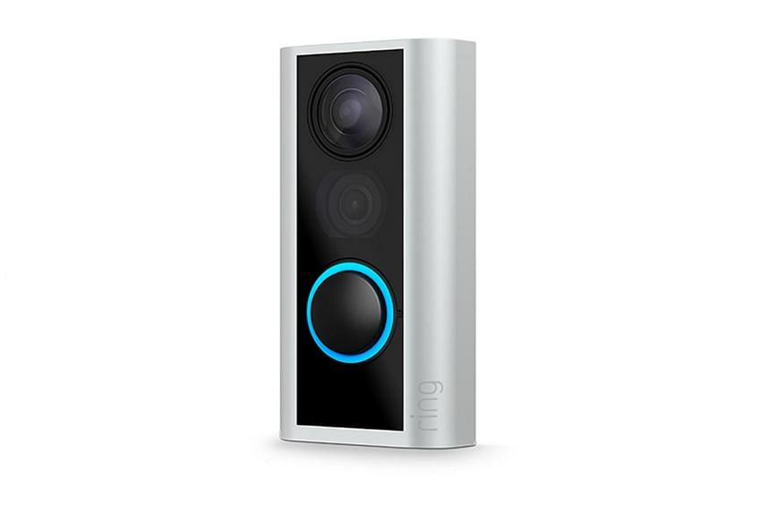 The battery-powered Door View Cam does not require drilling any holes or hooking up to a power source, unlike Ring's existing video doorbells.