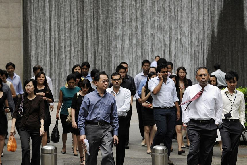 """The poll of employees in 14 developed countries by Kantar, a data, insights and consulting firm, also found that Singapore employees are the most likely to be made to """"feel uncomfortable"""" (32 per cent) by their employers."""