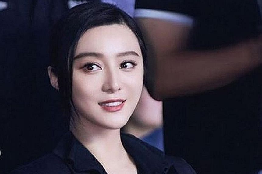 Chinese actress Fan Bingbing has yet to take part in the shooting of spy film 355.