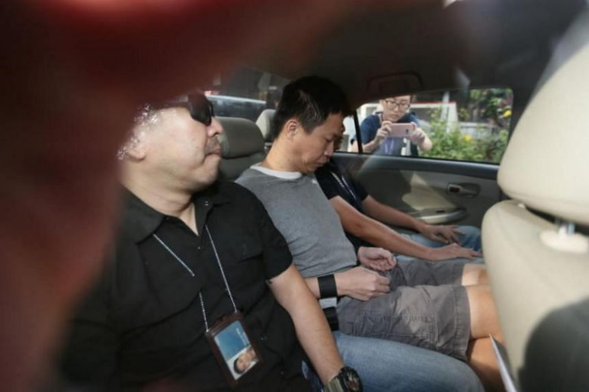 """Allen Vincent Hui Kim Seng pleaded guilty in July to one count of intentionally abetting """"Camorra Hitmen"""" to kill Mr Tan Han Shen."""