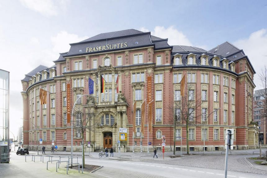 Great care had to be taken by Frasers Hospitality in transforming the historic 1907 building, which was the former office of Hamburg's tax authorities, into a luxury hotel.