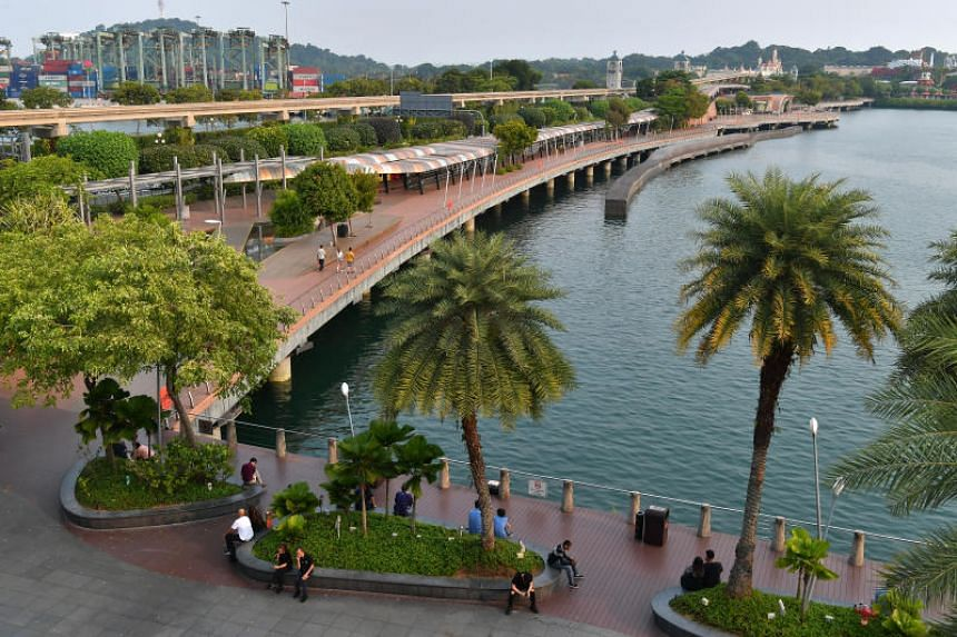 The 700m boardwalk, now managed by Sentosa Development Corporation, will be redeveloped as part of the integrated resort's expansion plans.