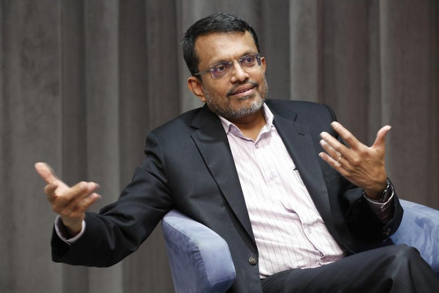 Monetary Authority of Singapore managing director Ravi Menon's appointment is for two years from Sept 26, 2019.