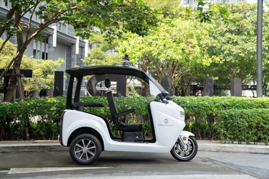 The tuk-tuk was chosen as a test vehicle because the three-wheeler is more energy-efficient than a car, requires fewer parts, is cheaper and is more suitable for the country's hot weather.