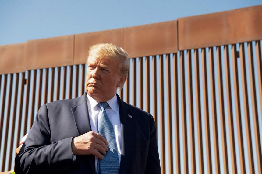 President Donald Trump revelled in details of the wall's construction, saying Border Patrol and military officials persuaded him to adopt more expensive designs.