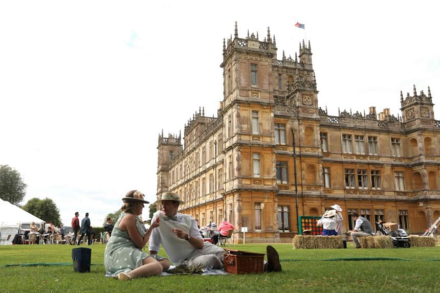Two guests can have a one-night stay at Highclere Castle, the main filming location for the Emmy Award-winning drama Downton Abbey.