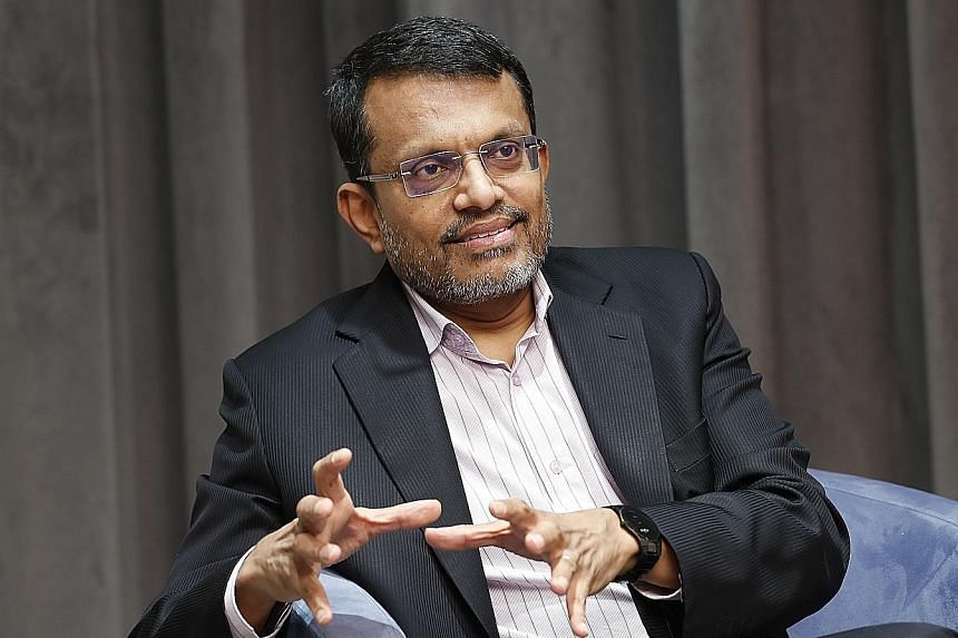 MAS chief Ravi Menon will chair the Asian Consultative Council for two years. BT FILE PHOTO