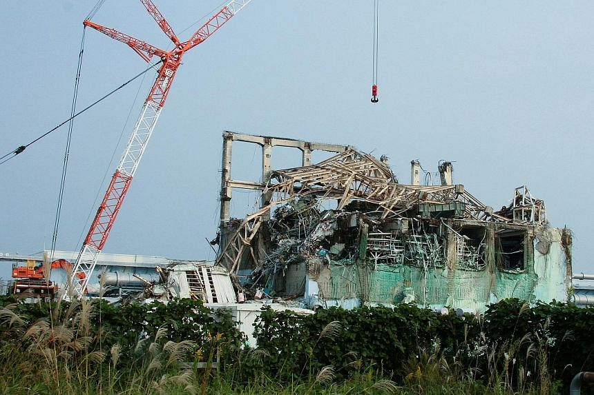 The Fukushima Daiichi nuclear power plant crippled by the tsunami that hit Japan in 2011. PHOTO: REUTERS
