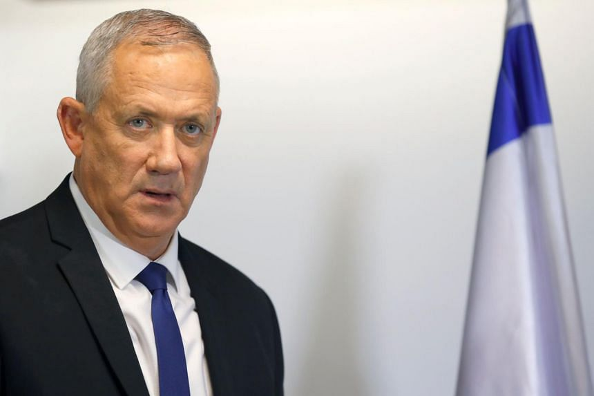 Former military chief Benny Gantz has indicated he is open to a unity government - as long as Israeli Prime Minister Benjamin Netanyahu isn't at the helm.