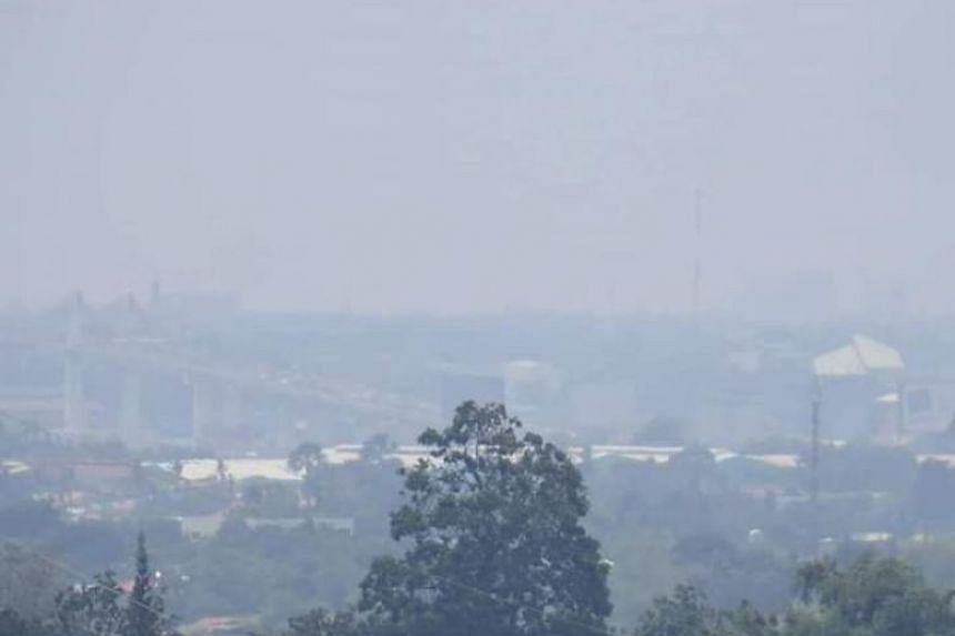 A bureau official said Cebu residents had been reporting what appeared to be haze in some parts of the city since the start of the week, till Sept 19, 2019.