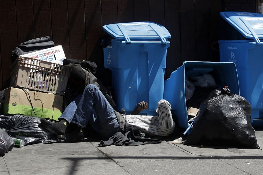 Trump threatens to punish San Francisco over its homelessness problem