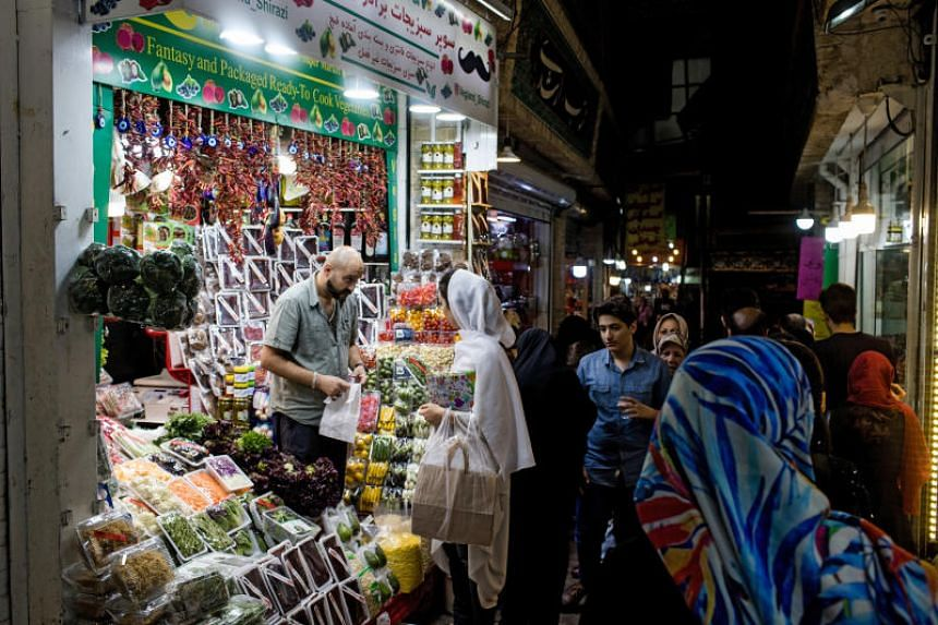 Iran's Foreign Minister Mohammad Javad Zarif said the new round of US sanctions against its central bank was an attempt to deny ordinary Iranians access to food and medicine.