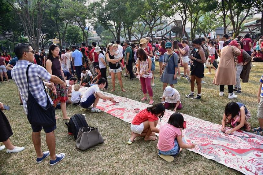The Singapore Climate Rally is the first physical one in Singapore since the international movement began in August last year, although there have been other social media climate campaigns here.