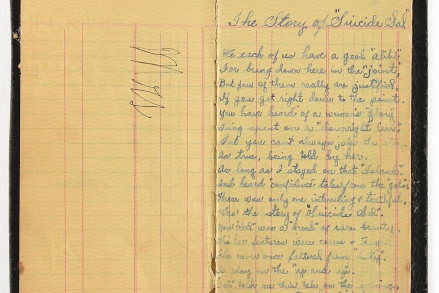 A book of poetry belonging to Bonnie Parker.