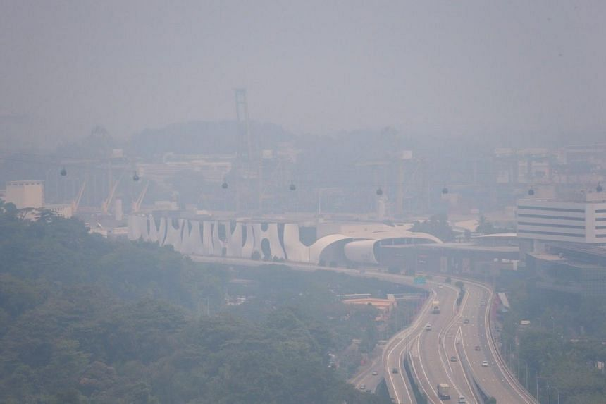 Haze in Singapore: Air quality at unhealthy levels across Singapore