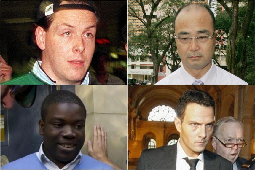 (Clockwise from top left) Rogue traders Nick Leeson, Chen Jiulin, Jerome Kerviel and Kweku Adoboli