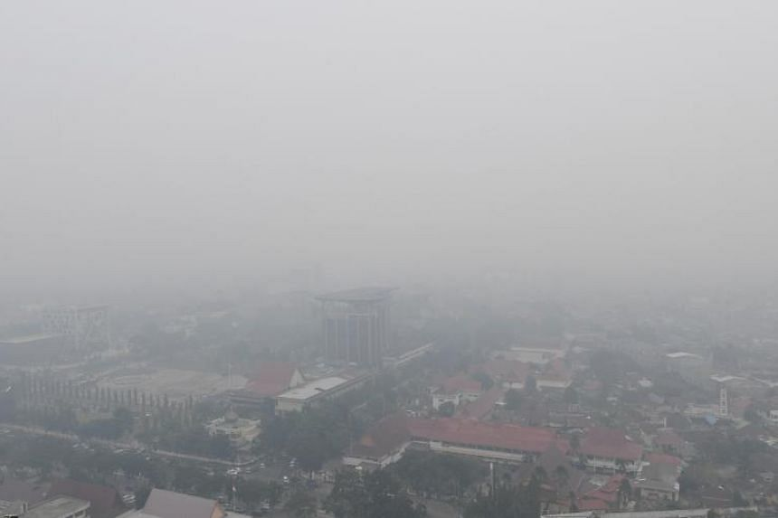 The PM10 Pollutant Standards Index (PSI) in Pekanbaru surged at 10pm to above 700, above the levels seen during Indonesia's worst haze episode in 2015.