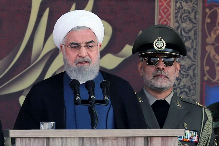 Iran President Hassan Rouhani (left) is set to travel to New York on Monday, a day before general debate kicks off at the UN gathering.