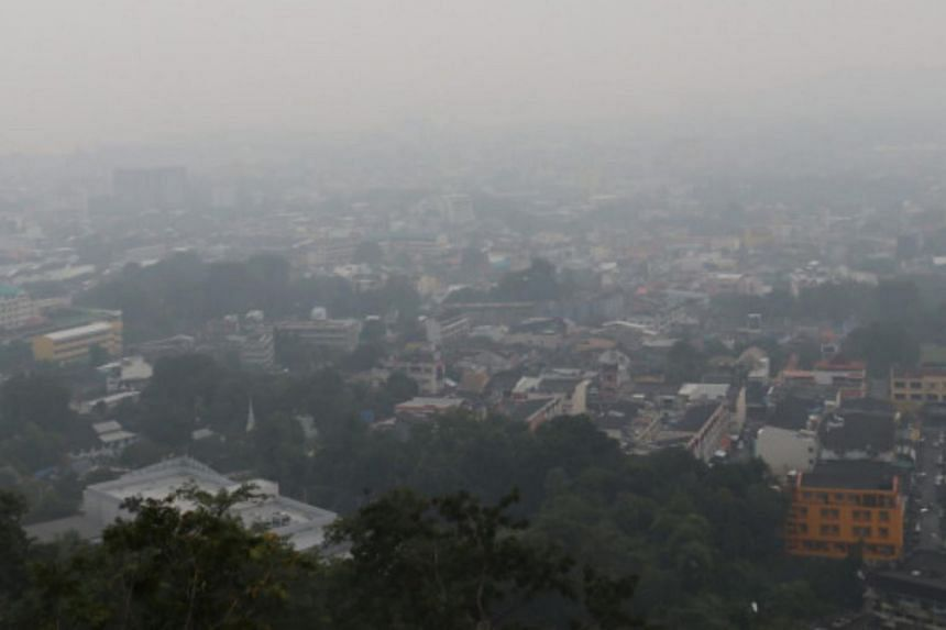 The PM2.5 particles in Phuket were measured at 57 microgrammes per cubic metre, a level considered to be harmful to health, according to the Pollution Control Department.
