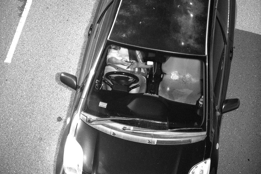 This Jan 12 photo, captured by a Mobile Phone Detection Camera and released by Transport for New South Wales, shows a driver using a mobile phone while driving. A six-month trial of two such cameras this year checked 8.5 million vehicles and detected