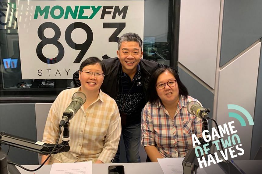 This week, sports podcasters Lee Yulin (left) and Low Lin Fhoong (right) talk about Singapore's F1 ambitions and the haze's impact on local sport with Money FM's Bernard Lim (centre).