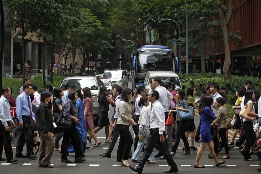 Overall, Singaporeans have a Better Life Index score of 50.4, with 41 per cent saying they are not happy with their lives currently.