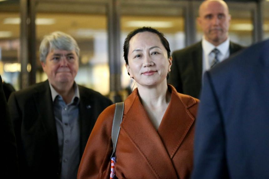 Huawei Chief Financial Officer Meng Wanzhou was detained at Vancouver's airport on Dec 1, where she is charged with bank fraud and accused of misleading HSBC Holdings about Huawei's business in Iran.